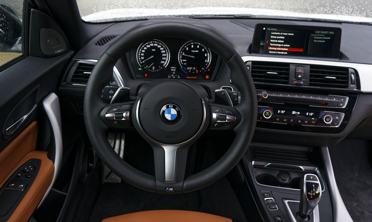 BMW M140i xDrive - kierownica