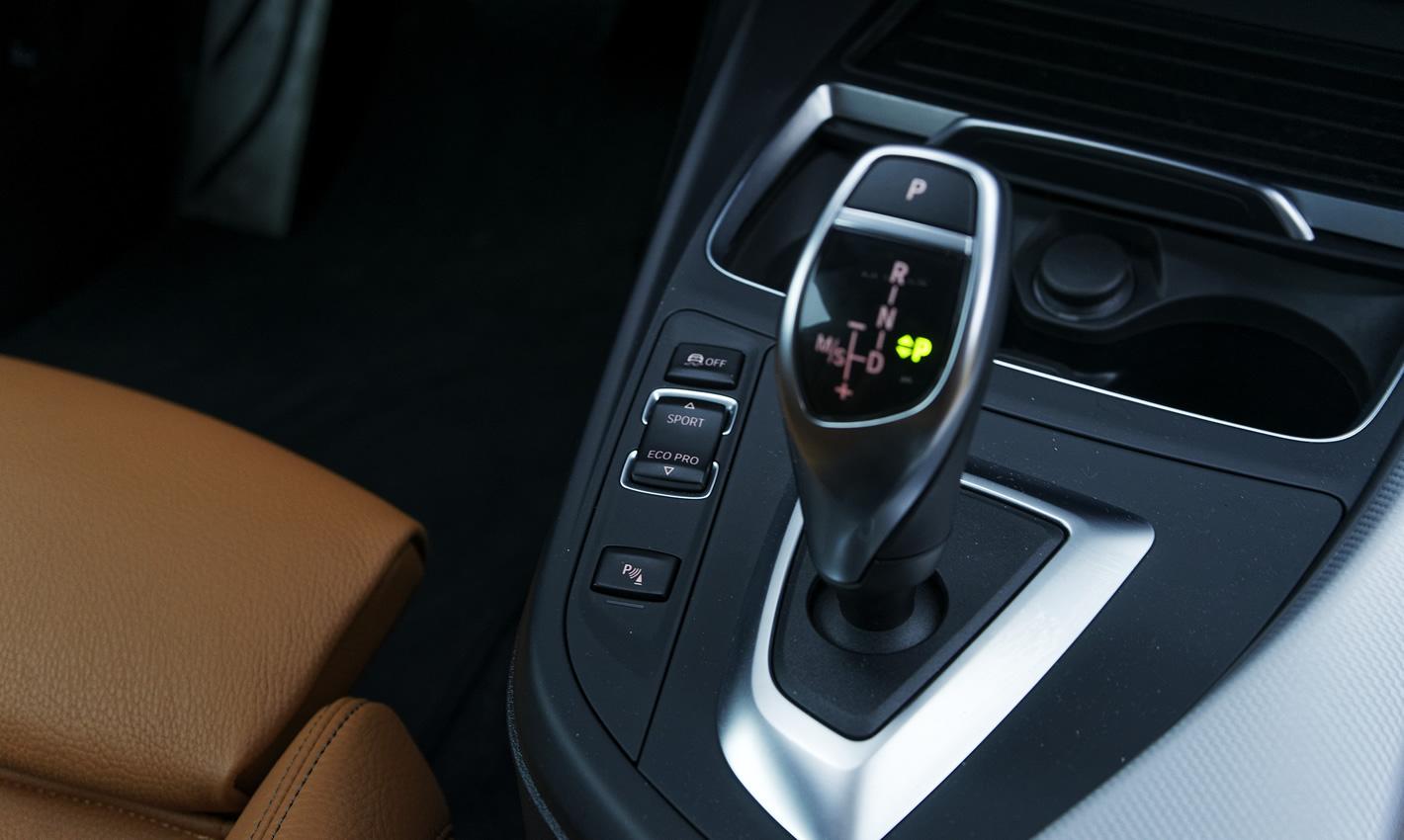 BMW M140i xDrive - skrzynia biegów Steptronic