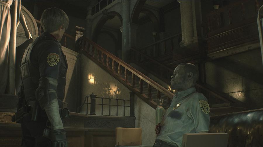 Resident Evil 2 - Rozmowa