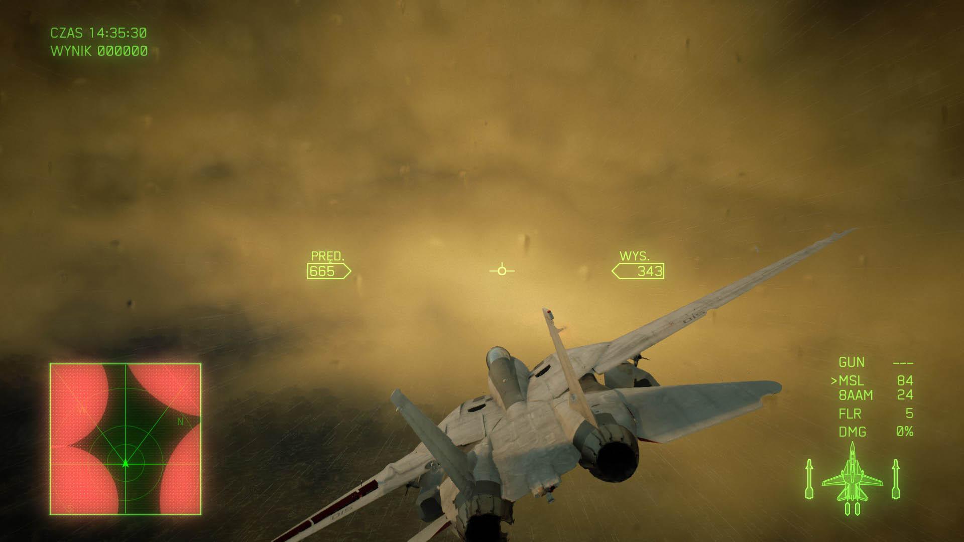 Ace Combat 7 - Lot samolotem