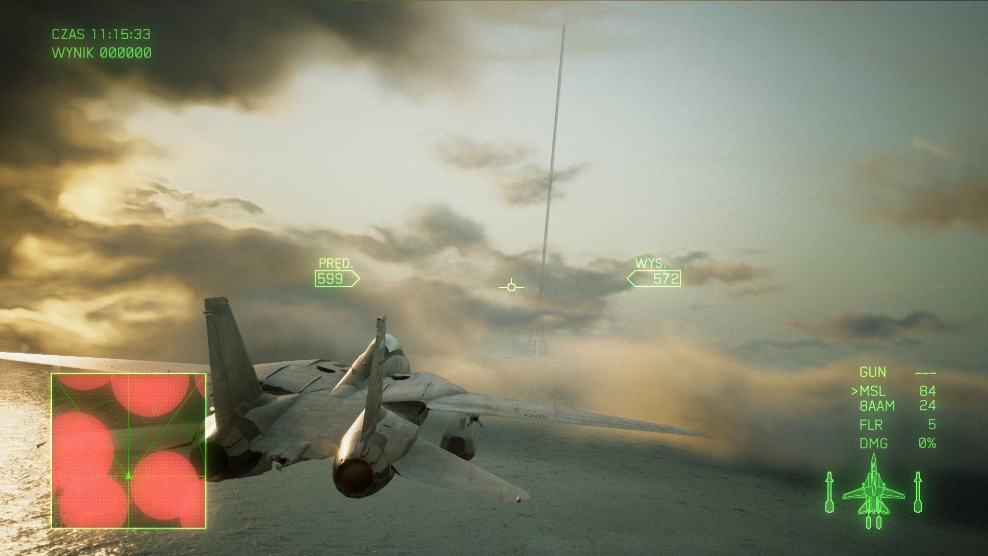 Ace Combat 7 - Walka