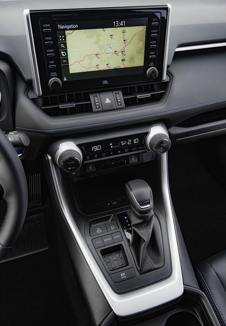 Toyota RAV4 Hybrid 2019 - system multimedialny i nawigacja
