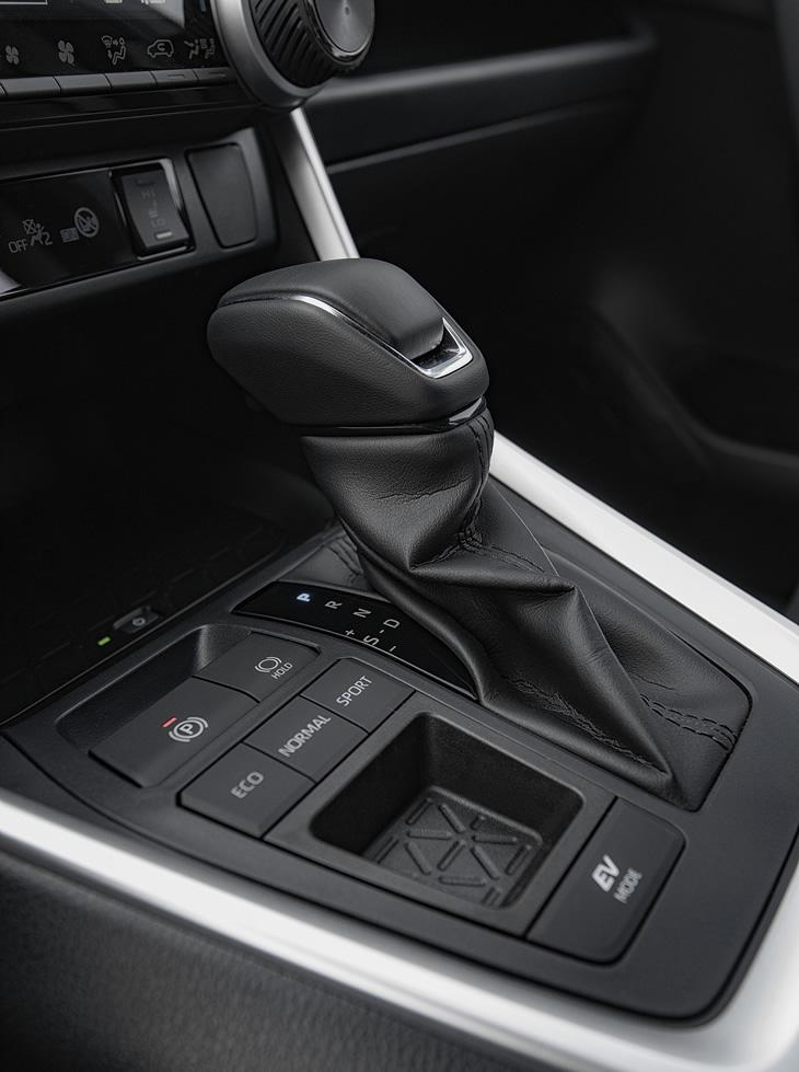 Toyota RAV4 Hybrid 2019 - tryby jazdy