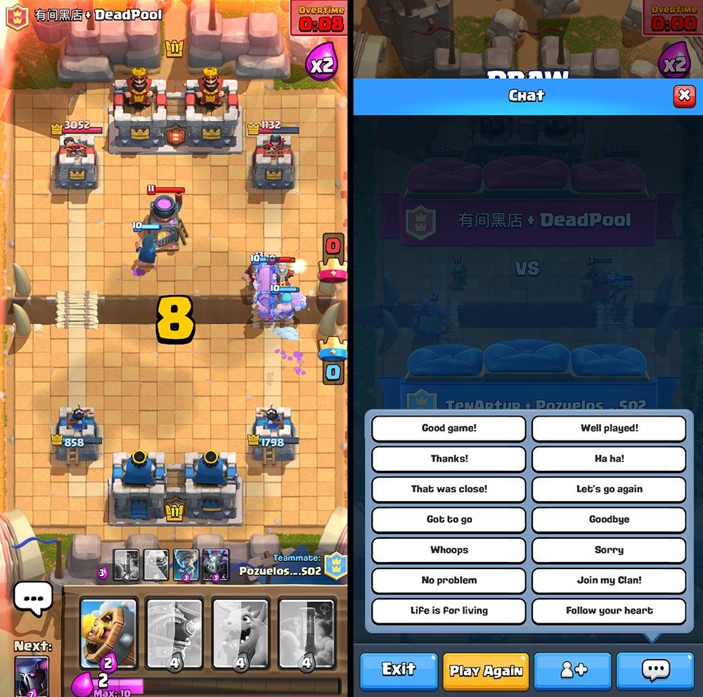 Clash Royale - Tryb 2 na 2