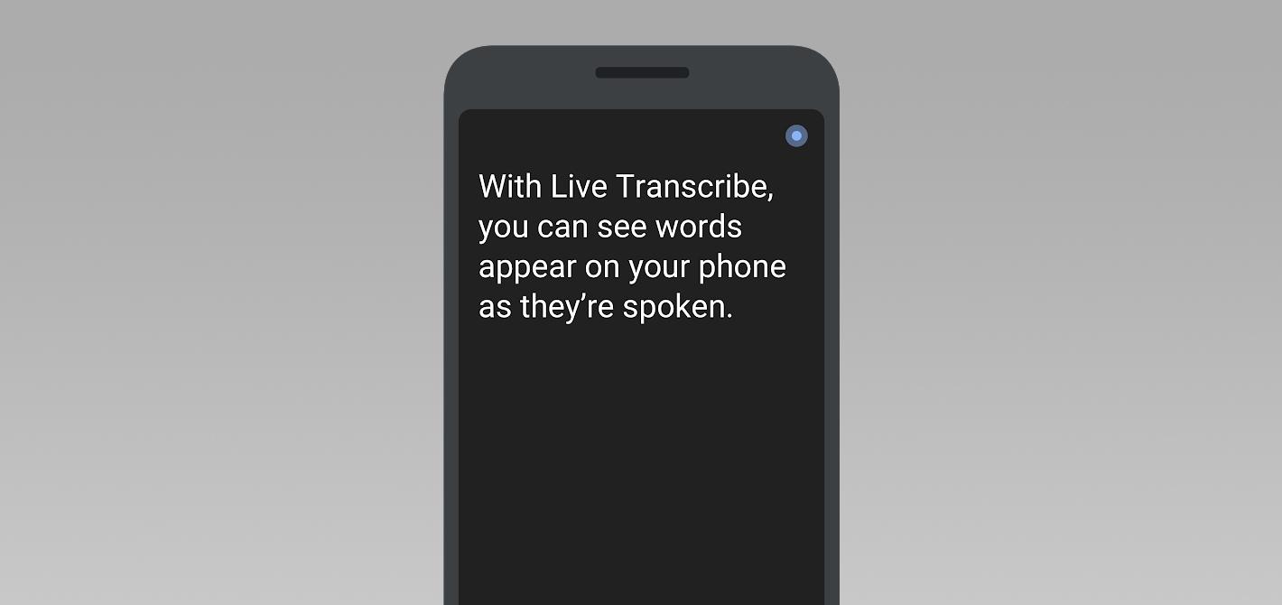 google live transcribe