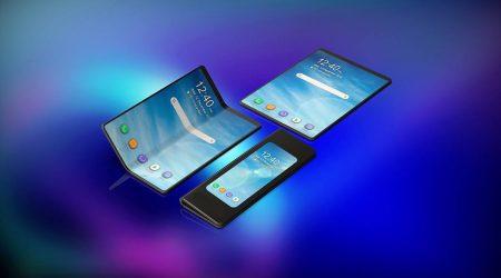 prototyp składanego smartfona od Samsunga