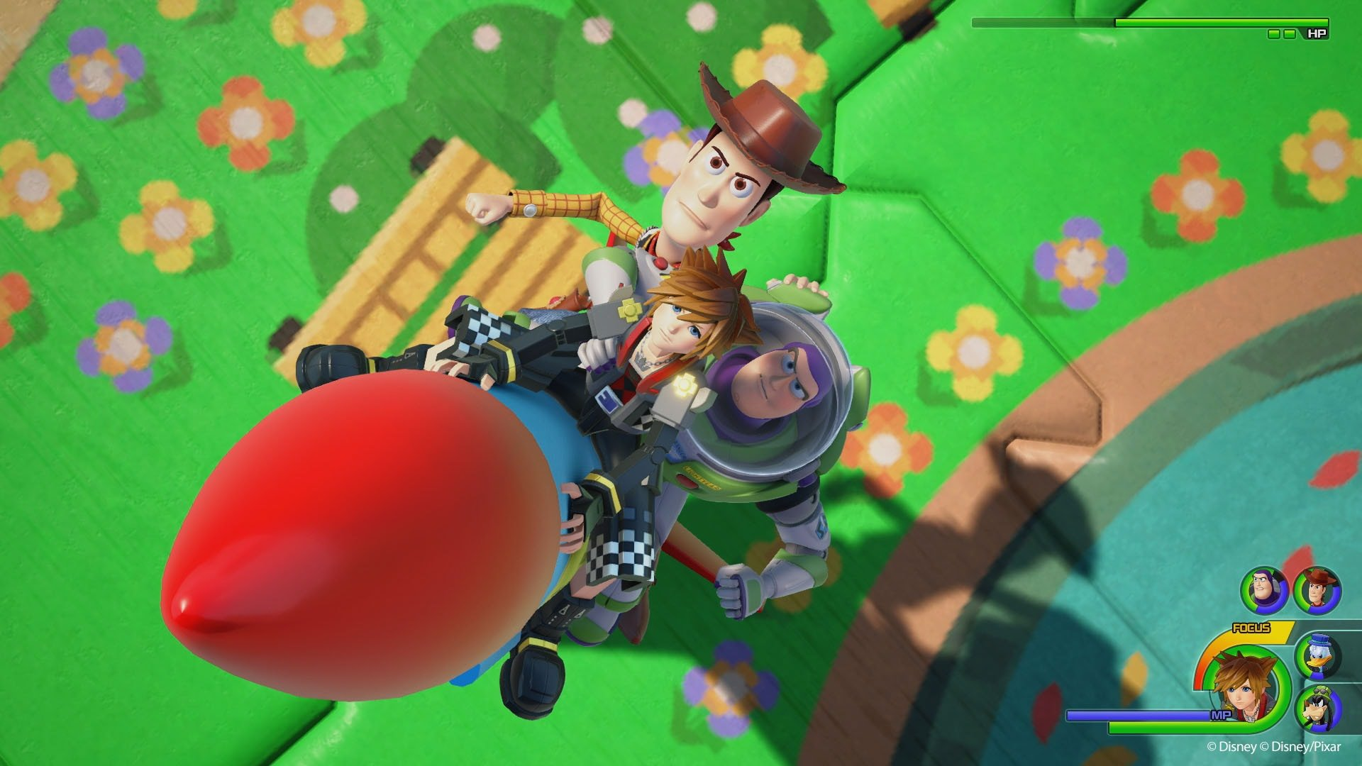kingdom hearts iii - toy story