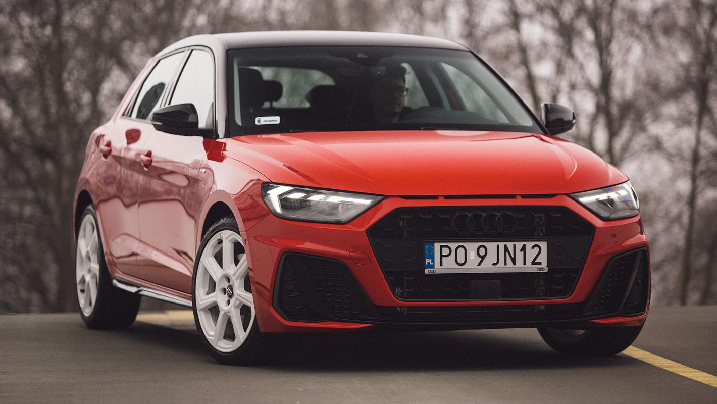 Audi A1 2019 - prowadzenie