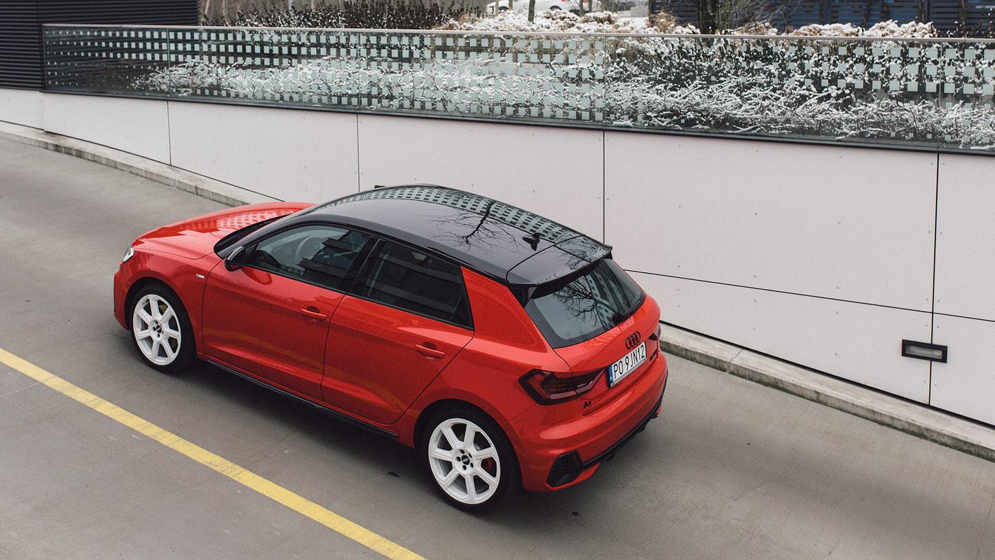 Audi A1 2019 - atrakcyjna kolorystyka nadwozia