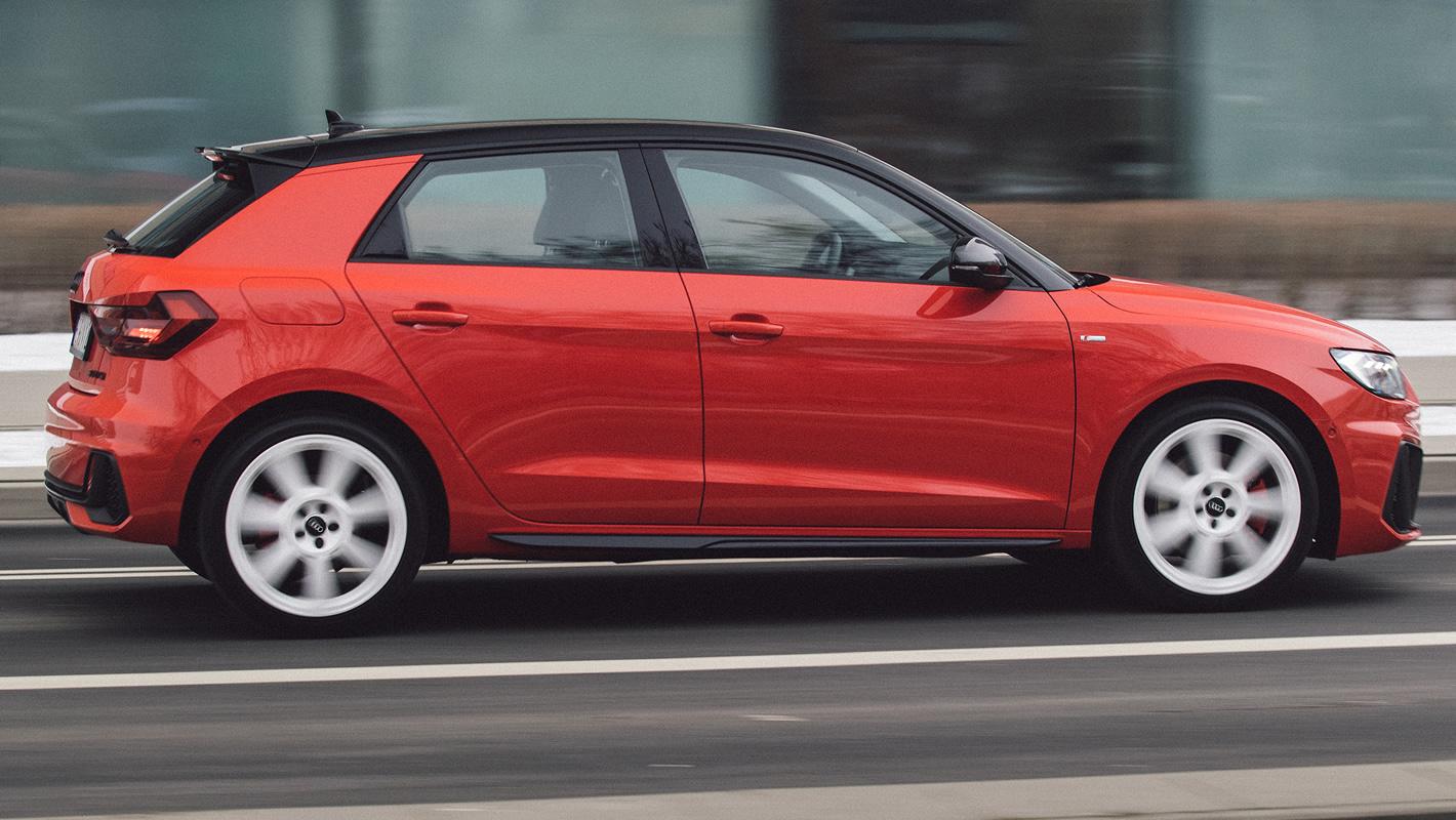 Audi A1 2019 z boku