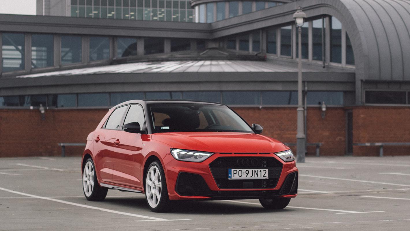 Audi A1 2019 z przodu