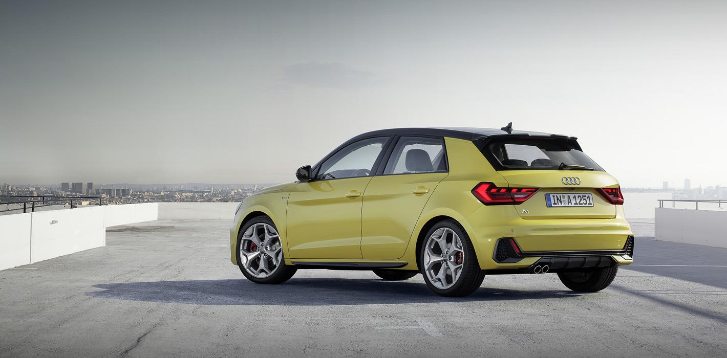 Audi A1 2019 z tyłu