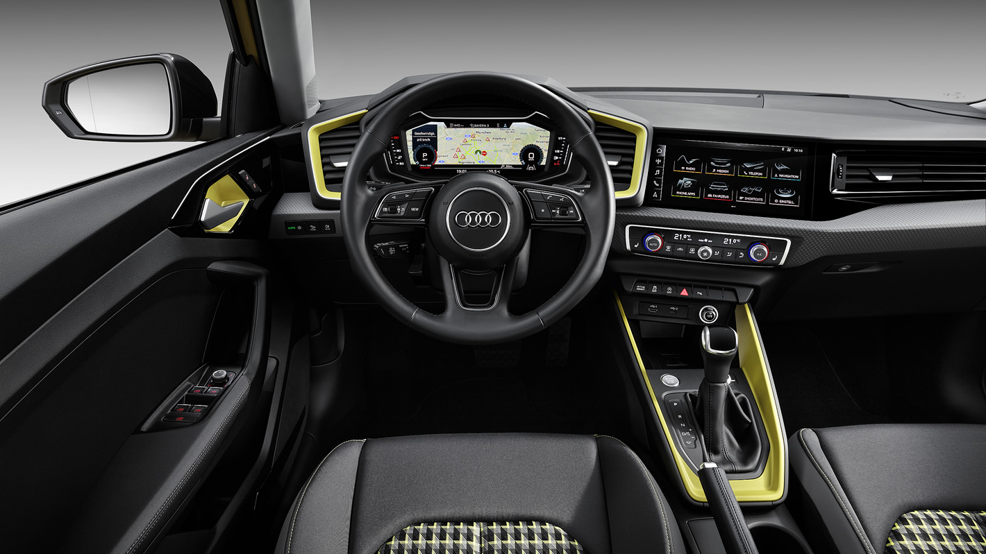 Audi A1 2019 - wnętrze