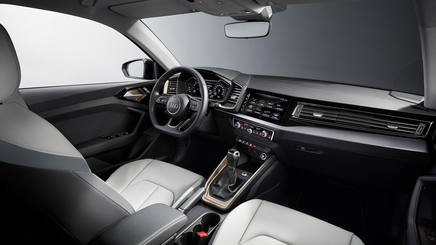 Audi A1 2019 - kokpit