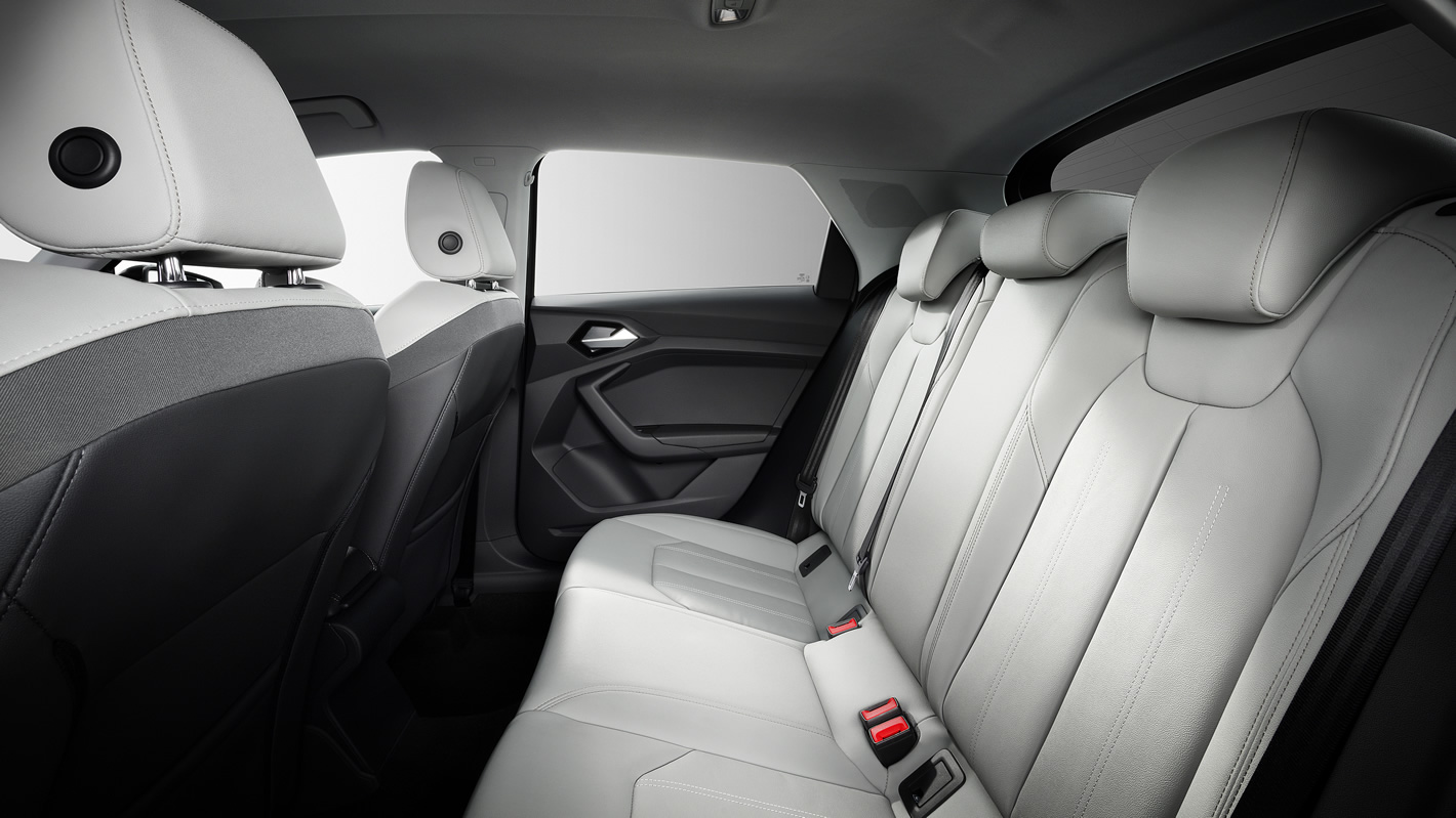 Audi A1 2019 - tylna kanapa
