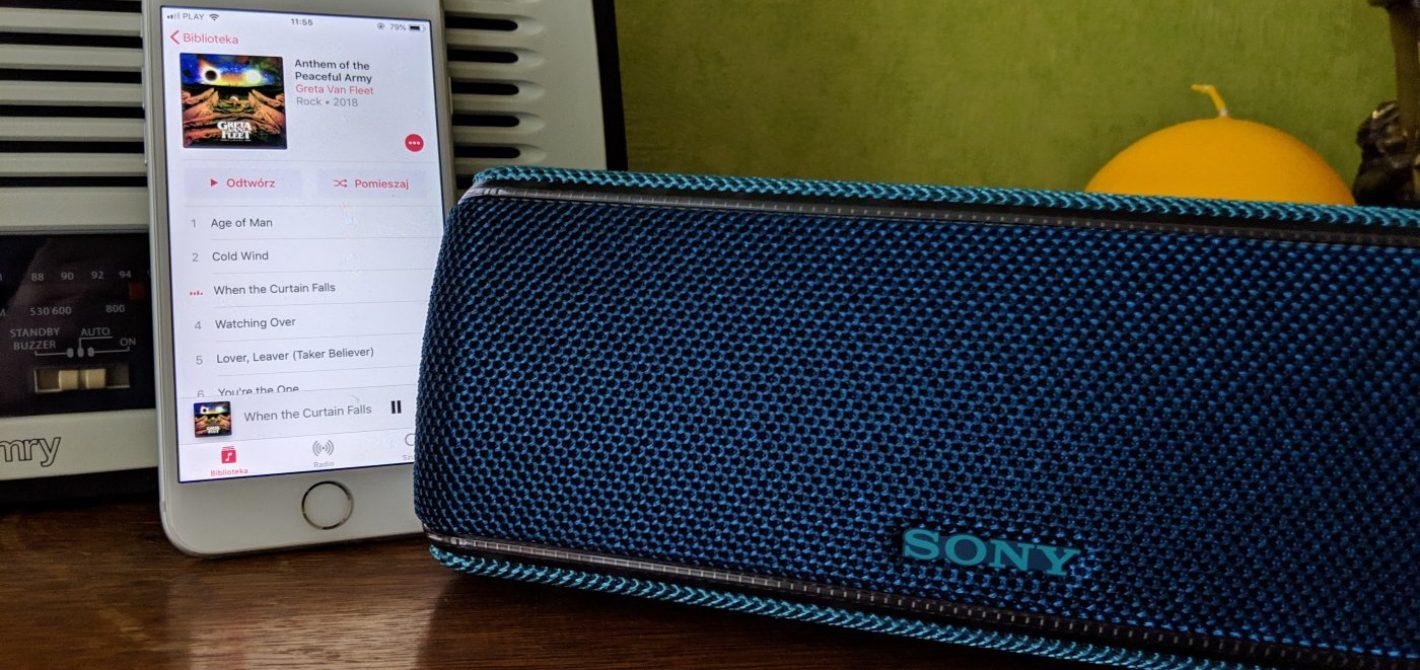 Przenośny Głośnik Sony Srs Xb31 Recenzja Brakuje Mu Tylko Jednego