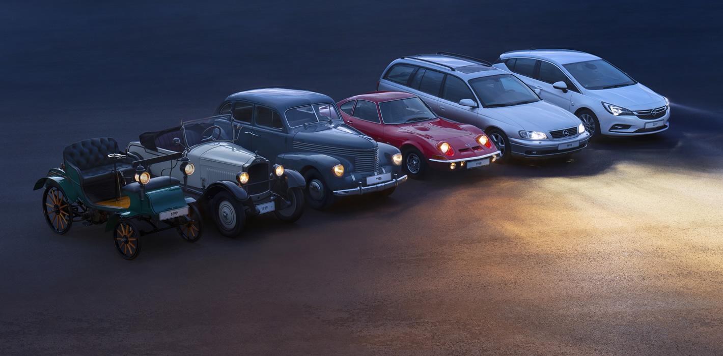 Opel - 120 lat historii samochodów