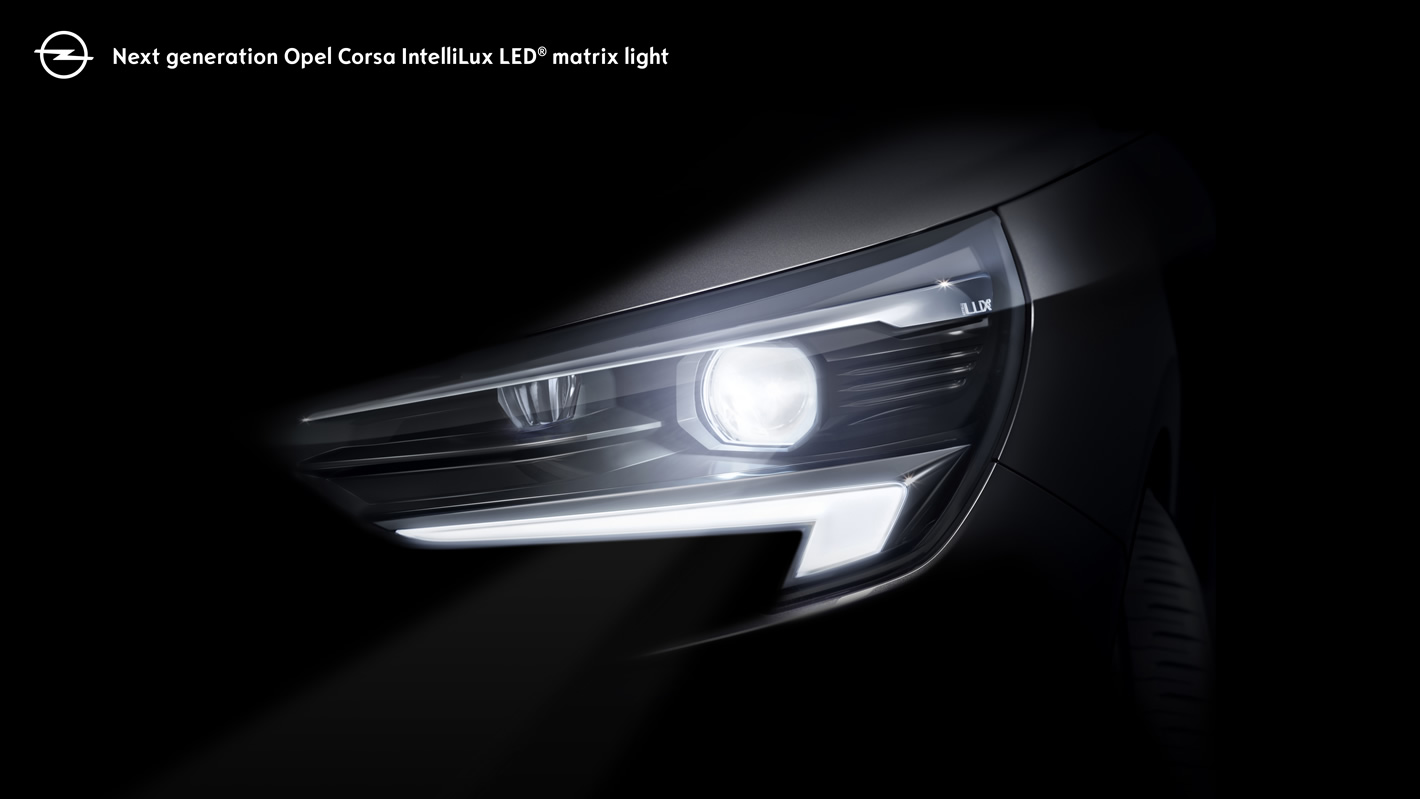 Opel Corsa z IntelliLux LED