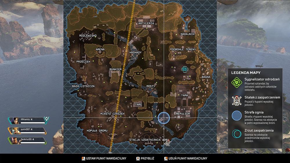APEX Legends Poradnik - Mapa