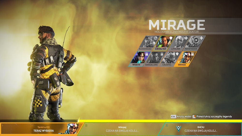 Apex Legends - Mirage