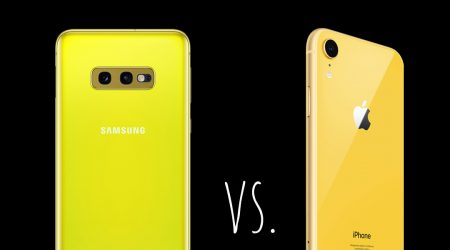 iphone xr vs galaxy s10 e