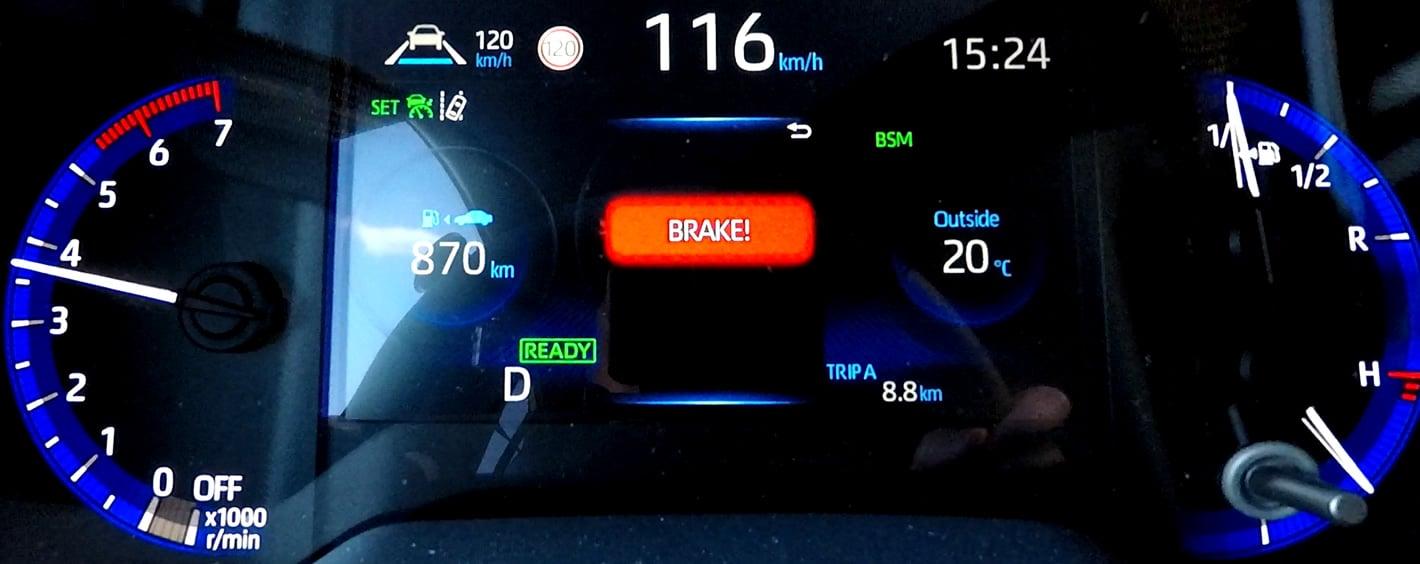 Toyota Corolla 2019 PCS