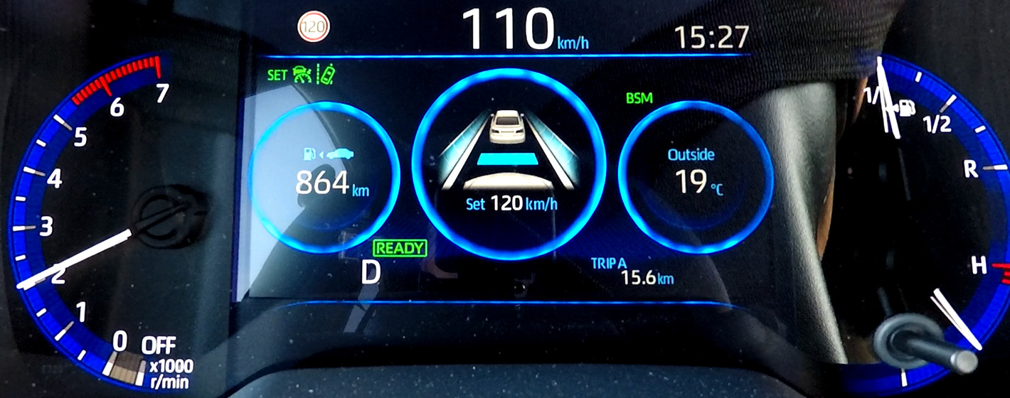 Toyota Corolla 2019 - adaptacyjny tempomat + asystent pasa ruchu