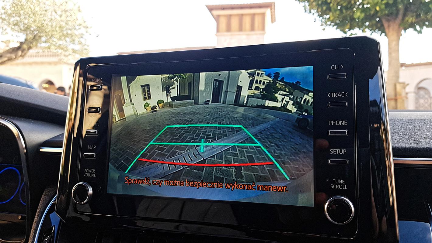 Toyota Corolla 2019 - kamera cofania