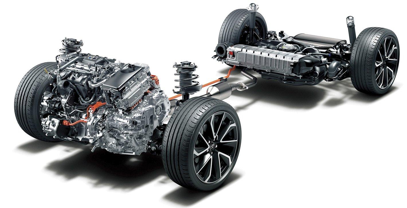 Toyota Corolla 2019 - układ napędowy