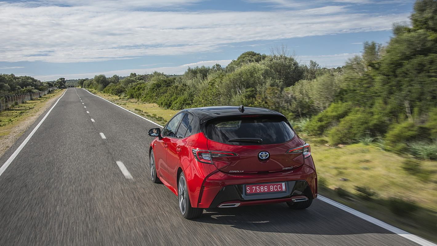 Toyota Corolla jazda próbna