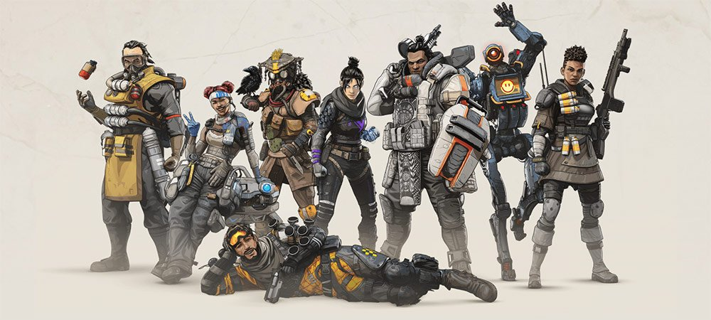 Apex Legends Legendy