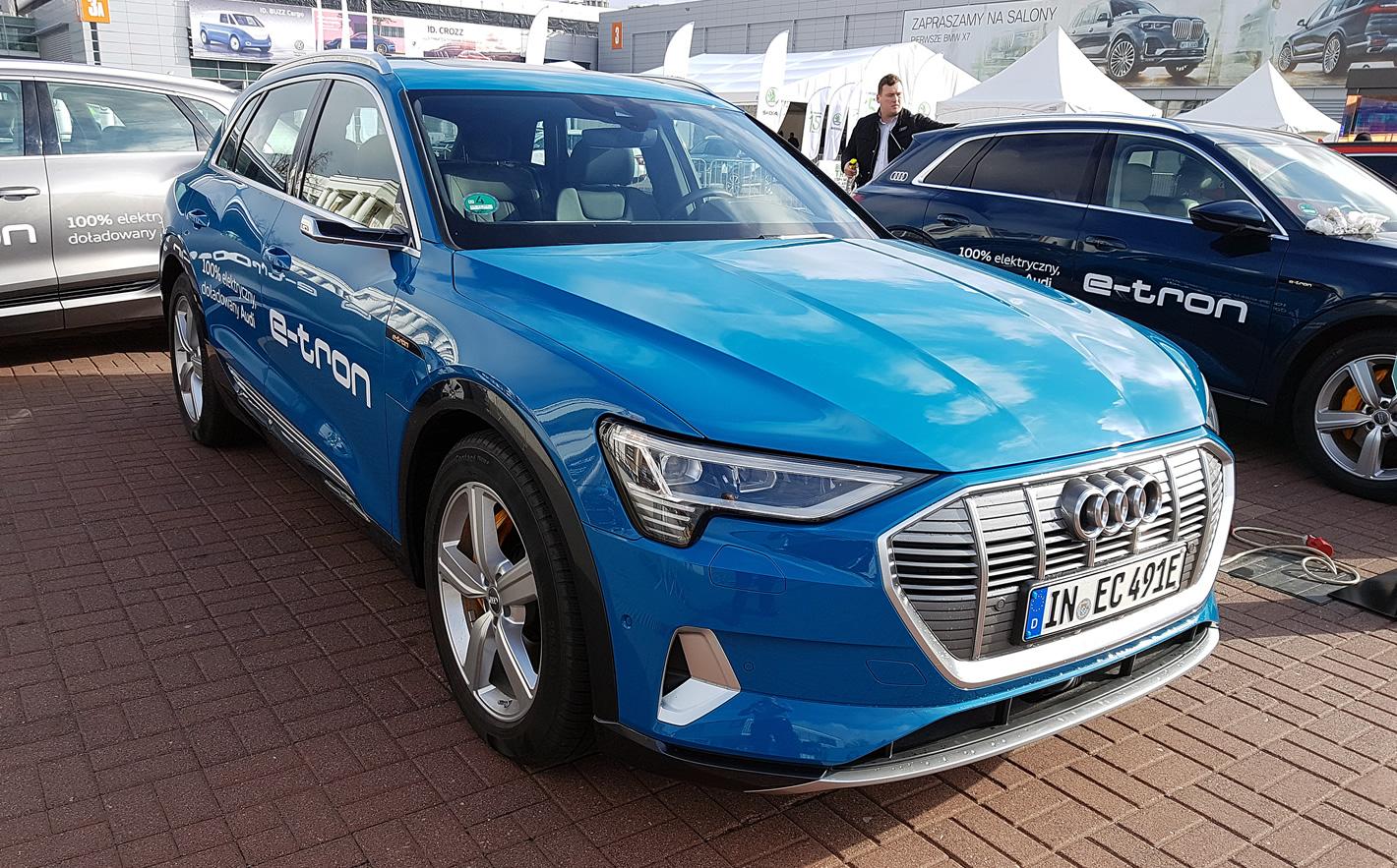 Audi e-tron 55 quattro - jazda próbna