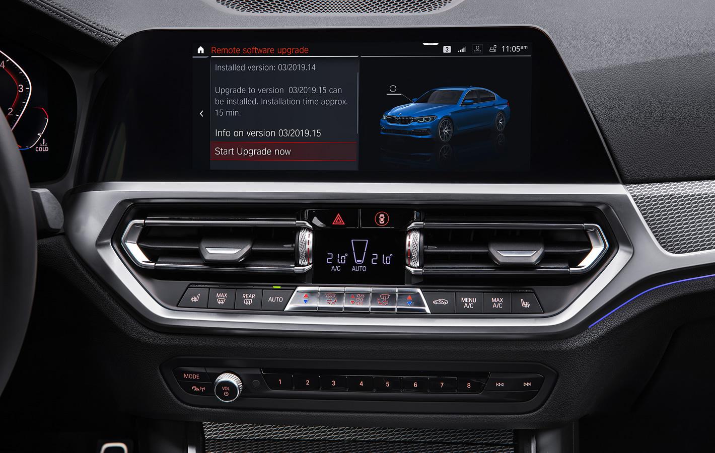 BMW - zdalna aktualizacja