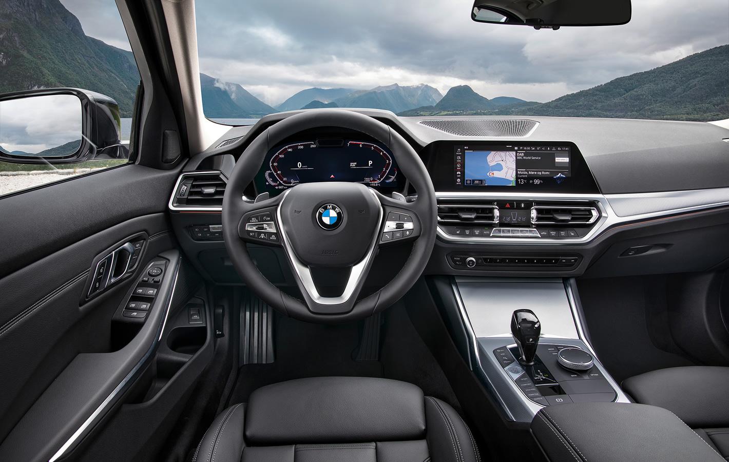 BMW 3 - wnętrze