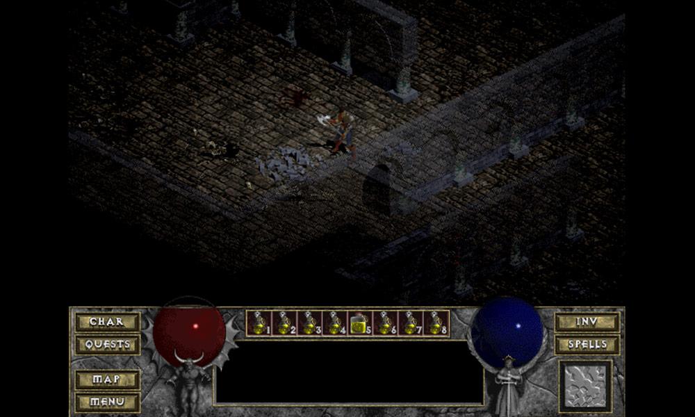 Diablo 1 - Lochy