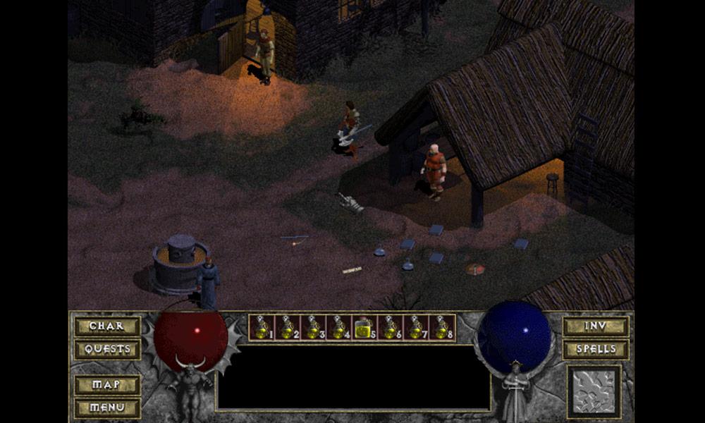 Diablo 1 - Tristram