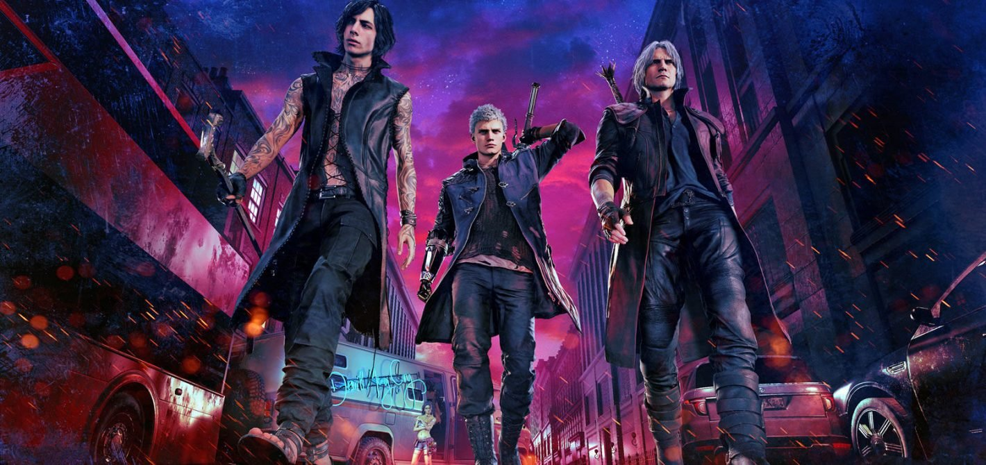 devil may cry 4 bohaterowie
