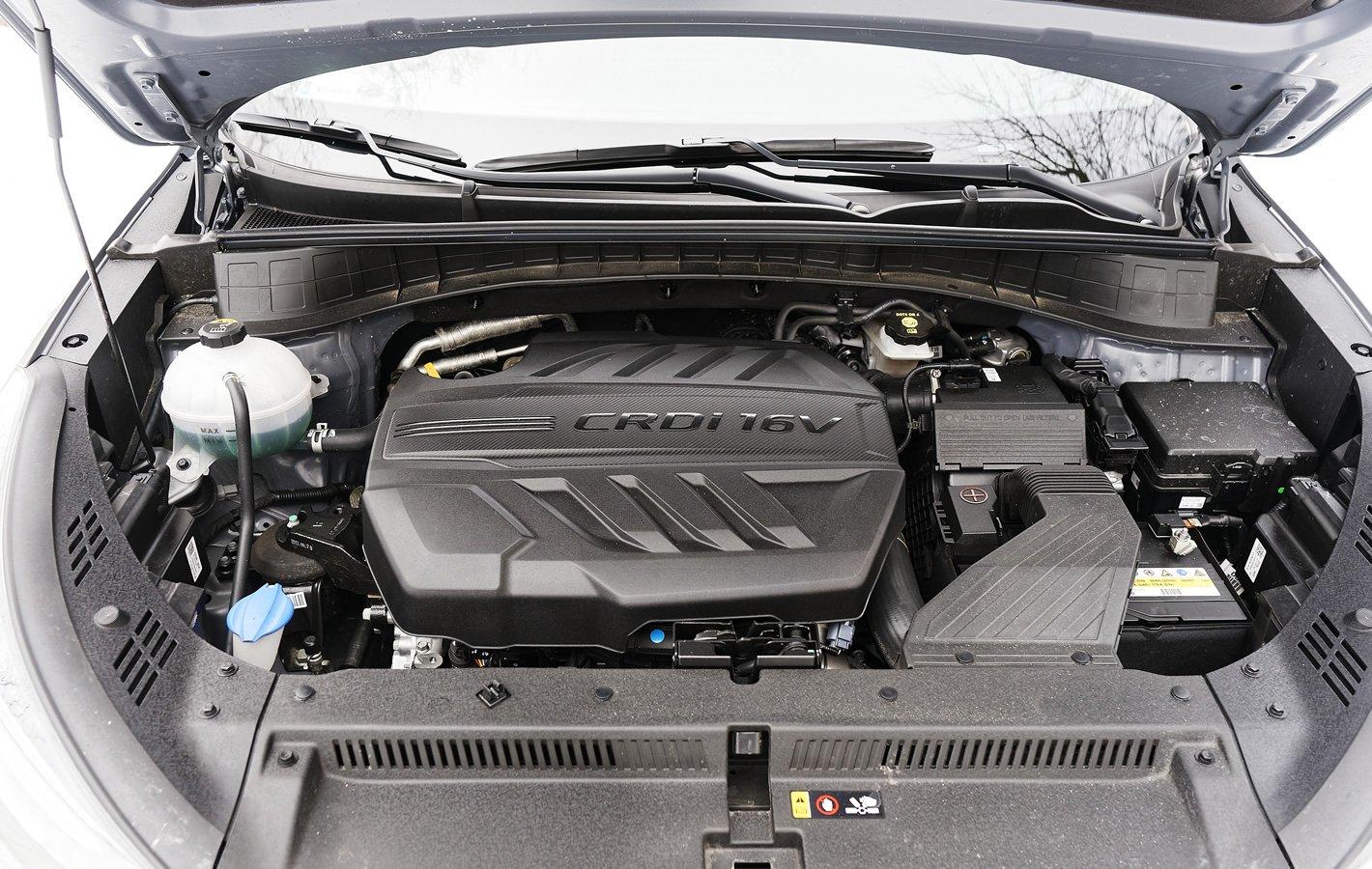 Hyundai Tucson 2.0 CRDi 48V - silnik