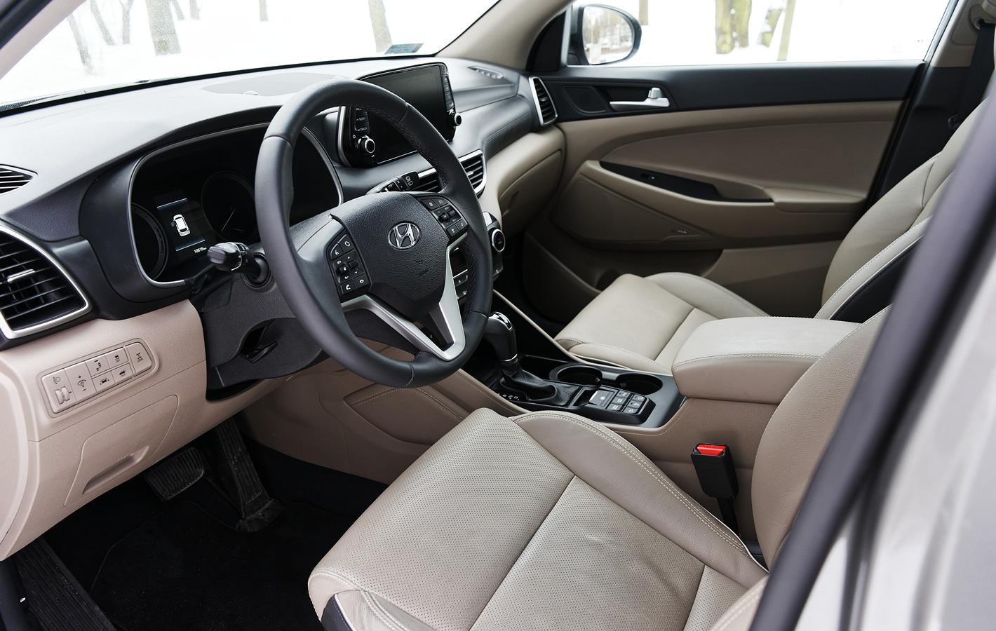 Hyundai Tucson 2.0 CRDi 48V - środek