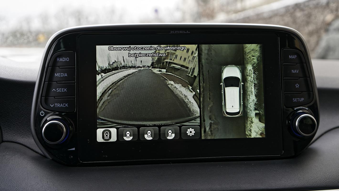 Hyundai Tucson 2.0 CRDi 48V - kamera 360 stopni