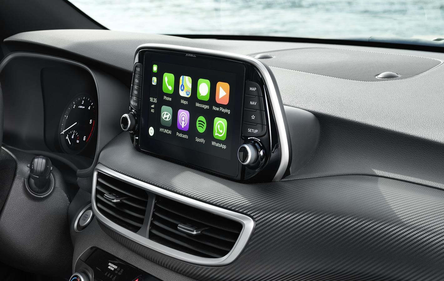 Hyundai Tucson 2.0 CRDi 48V z Apple CarPlay
