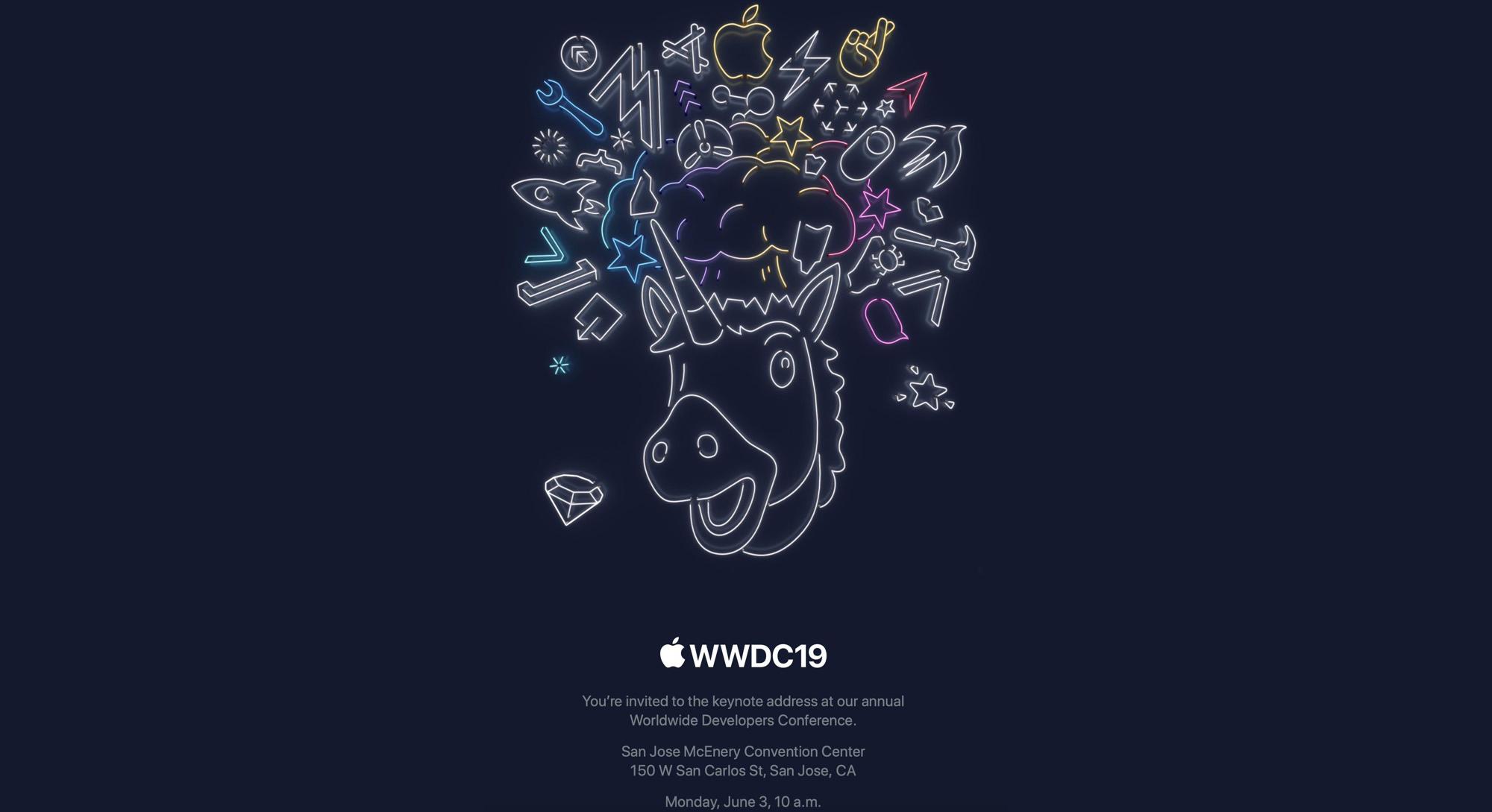 Apple wysłało do mediów zaproszenie na keynote otwierający WWDC19