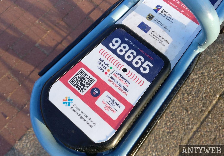 MEVO czytnik RFID i dioda baterii