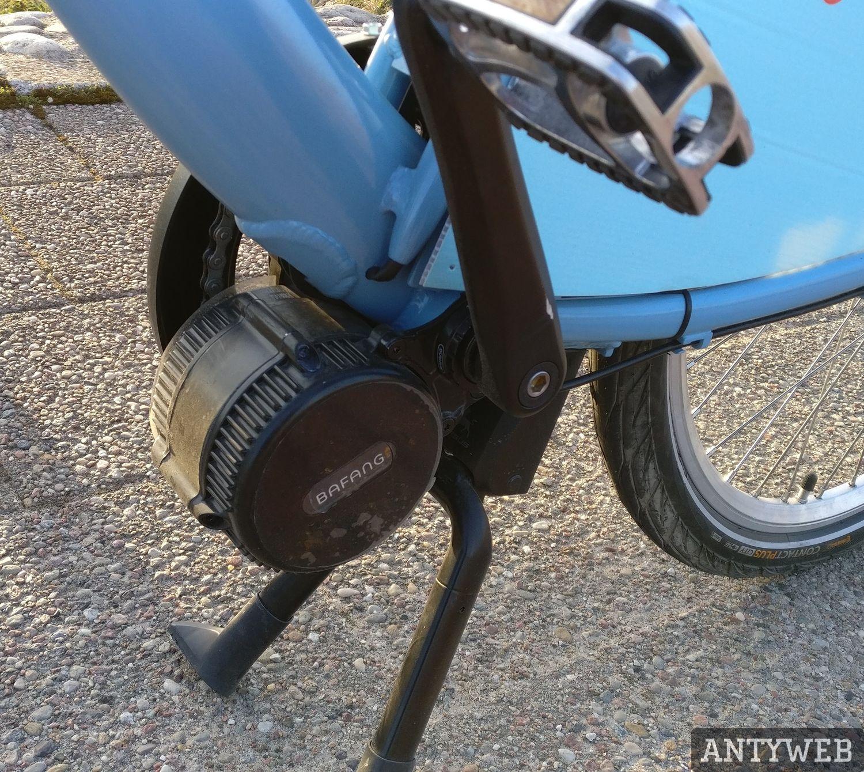 Rower MEVO silnik elektryczny