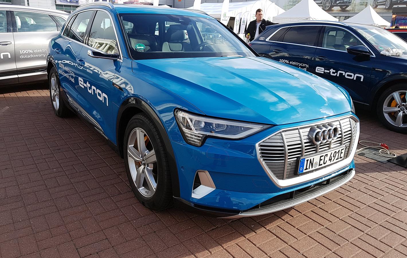 Poznań Motor Show 2019 - Audi e-tron