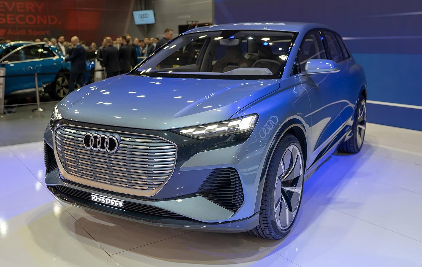 Poznań Motor Show 2019 - Audi Q4 e-tron