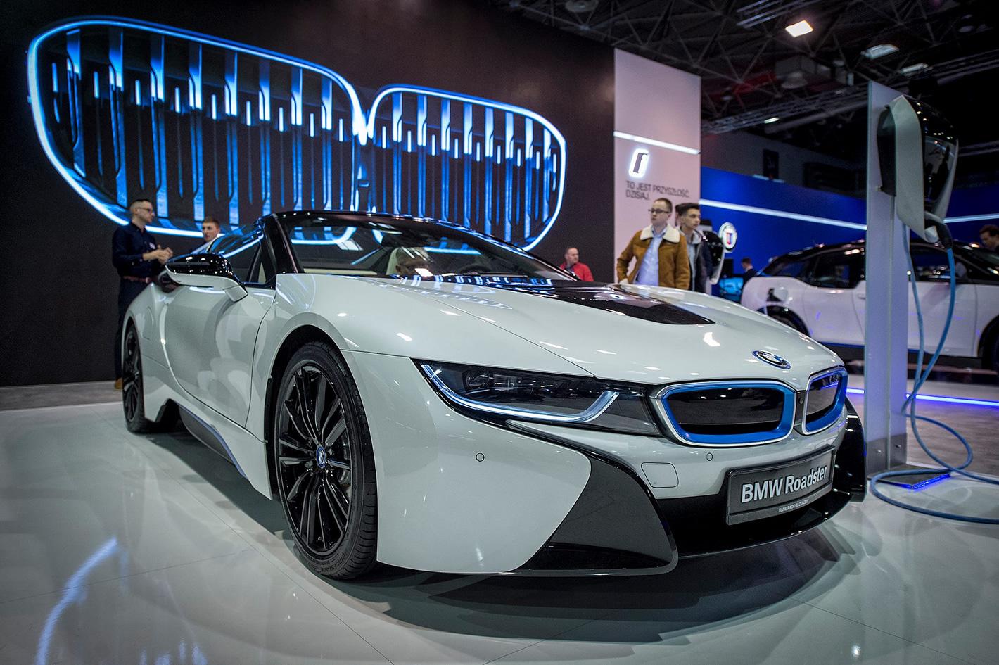 Poznań Motor Show 2019 - BMW i8 Roadster