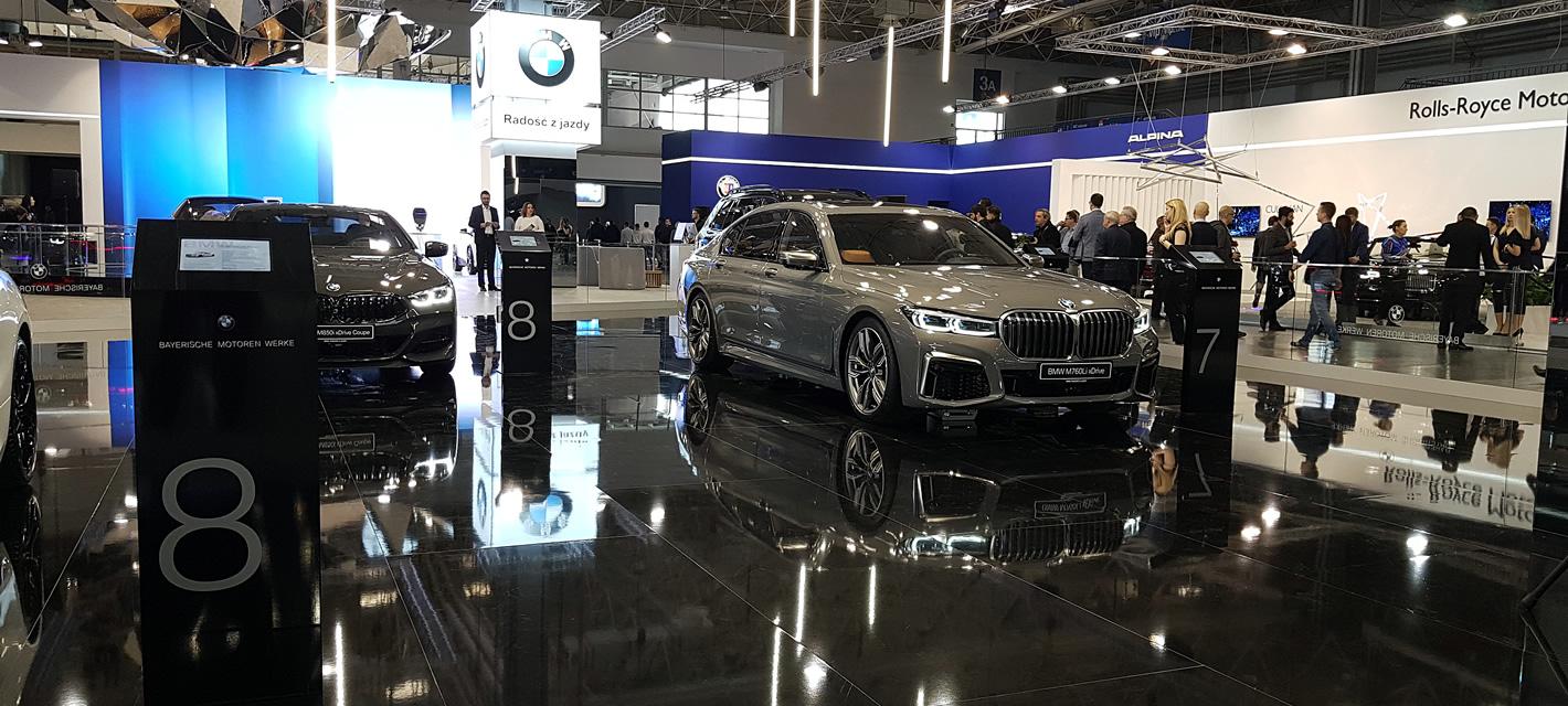 Poznań Motor Show 2019 - BMW M760Li xDrive