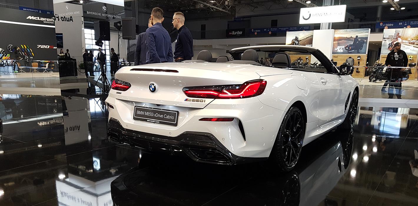 Poznań Motor Show 2019 - BMW M850i Cabrio