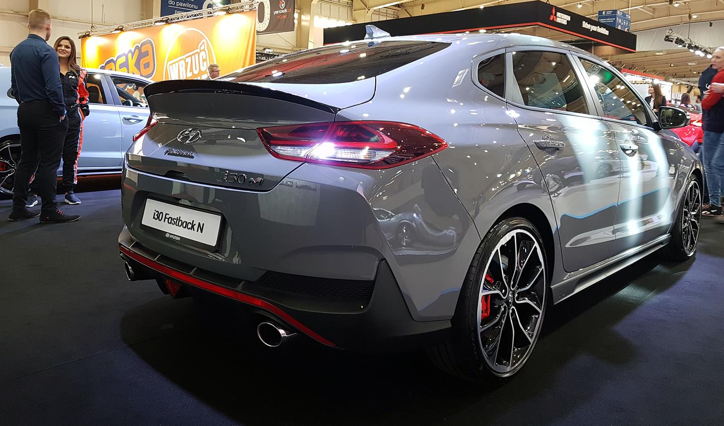 Poznań Motor Show 2019 - Hyundai i30 Fastback N